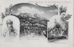 STEINEN → Stauffacher-Kapelle Mit Werner Stauffacher (Off.Postkarte Der Tell-Aufführung Altdorf, Ca.1900 - SZ Schwyz