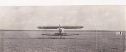 Photographie Originale 8 X 22,5 Avion Militaire NIEUPORT Bi-place  Aviation Fly - Aviación