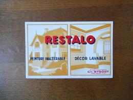RESTALO PEINTURE INALTERABLE DECOR LAVABLE ETABLISSEMENTS CH. BYGODT SAINT-ANDRE NORD - Paints