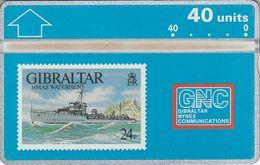 HMAS Waterhen - Gibraltar