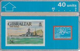 HMS Hood - Gibraltar