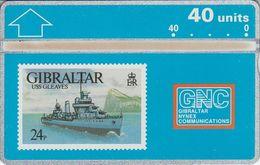 USS Gleaves - Gibraltar