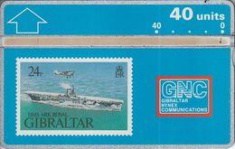 HMS Ark Royal - Gibraltar