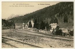 15 - Le Lioran - Le Puy Griou Vu De La Gare Du Lioran - Francia