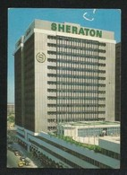 Saudi Arabia Old Picture Postcard Jeddah Sheraton Hotel View Card - Saudi Arabia