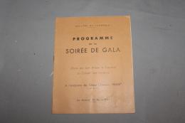 Programme De La Soirée De Gala 12 Avril 1947 Royaume Du Cambodge - Programs