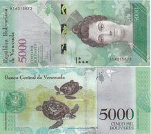 Venezuela - 5000 Bolivares 2016 UNC Lemberg-Zp - Venezuela