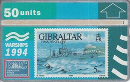HMS Penelope - Gibraltar