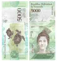 Venezuela - 5000 Bolivares 2017 UNC Lemberg-Zp - Venezuela