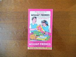 MILLIAT FRERES COLLECTIONNEZ LES BONS-POINTS MILLIAT FRERES - Buvards, Protège-cahiers Illustrés