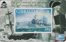 HMS Entreprise - Gibraltar