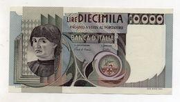 """Italia - Banconota Da Lire 10.000 """" Macchiavelli """" - Decreto 8.3.1984 - BB/SPL - (FDC8367) - [ 2] 1946-… : Républic"""