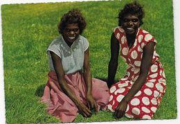 AUSTRALIA - Aboriginal Girls . - Aborigines
