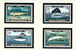 Montserrat 220-23 MNH 1969 Fish - Montserrat
