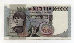 """Italia - Banconota Da Lire 10.000 """" Macchiavelli """" - Decreto 3.11.1982 - BB/SPL - (FDC8369) - [ 2] 1946-… : Républic"""