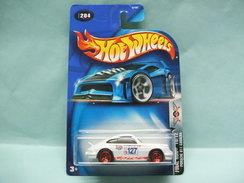 Hot Wheels - PORSCHE 911 CARRERA - 2003 Final Run Collector 204 HOTWHEELS US Long Card 1/64 - HotWheels