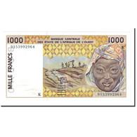 Billet, West African States, 1000 Francs, 1991, KM:711Ka, SPL+ - États D'Afrique De L'Ouest
