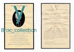 Avesnes-les-Aubert, Neuvilly, Nomain, Fourmies, Beaurepaire, Douchy, Mémento Paul Joseph Lerique, 23/05/1935, Prêtre - Devotion Images
