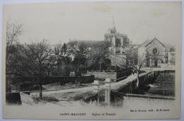 79 - Saint-Maixent - Eglise Et Temple - Saint Maixent L'Ecole