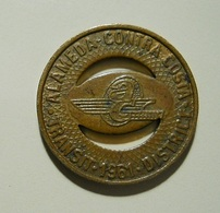 Token * Alameda-Contra Costa * 1961 - Tokens & Medals