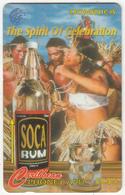 DOMINICA(GPT) - Belfast Estate Ltd/Soca Rum, CN : 100CDMA, Tirage %5000, Used - Dominica