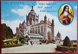 LISIEUX - Calvados - La Basilique - Vg - Lisieux
