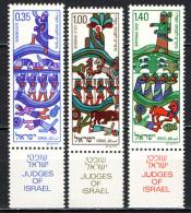 ISRAELE - 1975 - Jewish New Year, 5736 - MNH - Nuovi (con Tab)