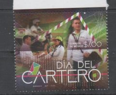 MEXICO , 2017, MNH, DAY OF THE POSTMAN,  MOTORBIKES, 1v - Jobs