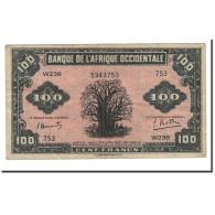 Billet, French West Africa, 100 Francs, 1942, 1942-12-14, KM:31a, TTB - États D'Afrique De L'Ouest