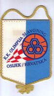 Basketball / Flag, Pennant / Croatia, Osijek / Basketball Club Olimpija Slavoning - Uniformes, Recordatorios & Misc