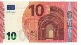 """10 EURO  """"YA""""    Firma DRAGHI    Y 009 A2  Serie  YA6069489902  /  FDS - UNC - EURO"""