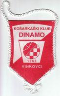 Basketball / Flag, Pennant / Croatia, Vinkovci / Basketball Club Dinamo - Uniformes, Recordatorios & Misc