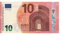 """10 EURO  """"TA""""     Firma DRAGHI     T 003 E5  Serie  TA0941005363   /  FDS - UNC - EURO"""