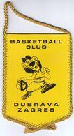 Basketball / Flag, Pennant / Croatia, Zagreb / Basketball Club Dubrava - Apparel, Souvenirs & Other