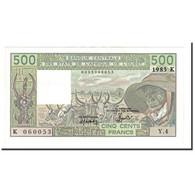 Billet, West African States, 500 Francs, 1983, KM:706Kf, NEUF - États D'Afrique De L'Ouest
