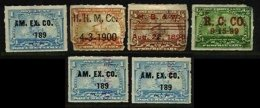 UNITED STATES, Pre-Cancels, Used, Ave/F - Fiscaux