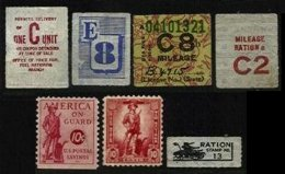 UNITED STATES, War Coupons, F/VF - Fiscaux