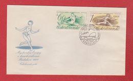 Tchécoslovaquie  -  Enveloppe Bratislava   17/1/1966 - FDC