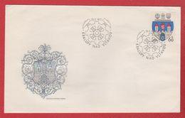 Tchécoslovaquie  -  Enveloppe Kralupy    22/2/1977 - FDC