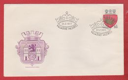 Tchécoslovaquie  -  Enveloppe Valasské    22/2/1977 - FDC