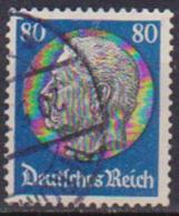 GERMANIA REICH REP.DI WEIMAR 1932-33 EFFIGE HINDENBURG UNIF. 460 USATO VF - Usati