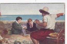 Boyhood Of Raleigh By Sir John Everett Millais Tate Gallery - Paintings