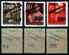 1945 CCCP Occupation - Hungary - Zakarpatska Ukraine Ungvar Uzhhorod - Famous Woman - Overprint NO GUARANTEE - Ucrania