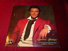 GERARD PHILIPE  LES PLUS BEAUX POEMES DE LA LANGUE FRANCAISE  AVEC MARIA CASARTES - Vinyles
