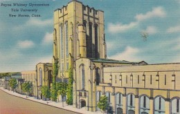 Connecticut New Haven Payne Whitney Gymnasium 1951 Yale University Curteich - New Haven