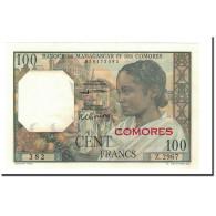 Billet, Comoros, 100 Francs, 1960-1963, Undated, KM:3b, NEUF - Comores