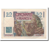 France, 50 Francs, 1951, 1951-02-01, TTB+, Fayette:20.17, KM:127c - 1871-1952 Circulated During XXth