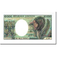 Billet, Gabon, 10,000 Francs, 1984, KM:7a, NEUF - Gabon