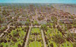 Louisiana Baton Rouge State Capitol Aerial View - Baton Rouge
