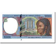 Billet, États De L'Afrique Centrale, 10,000 Francs, 1995, KM:405Lb, SPL - Central African States